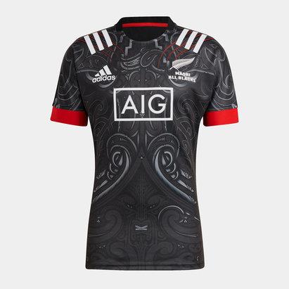 adidas Maori All Blacks Mens Home Shirt 21/22