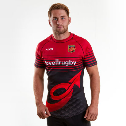 VX-3 Dragons 2018/19 Players Rugby Training Shirt