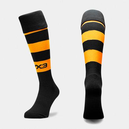 VX-3 VX3 Mens Hooped Playing Socks