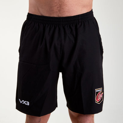 VX-3 Dragons 2018/19 Core Rugby Gym Shorts