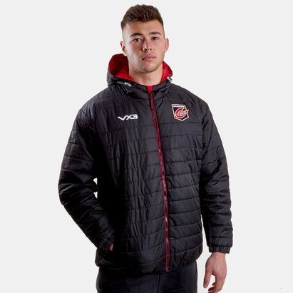 VX3 Dragons 2018/19 Pro Quilted Rugby Jacket