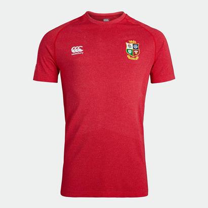 Canterbury British and Irish Lions Seamless T Shirt Mens