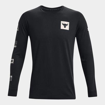Under Armour Project Rock Bull Long Sleeve T Shirt