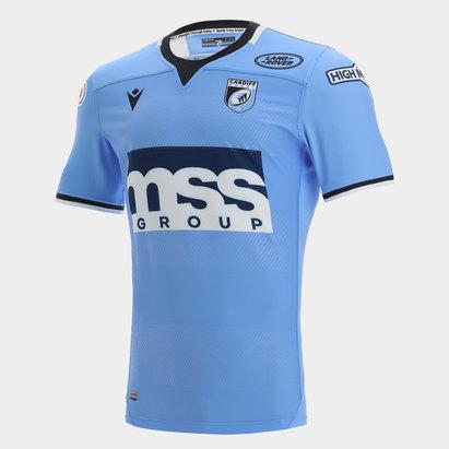 Macron Cardiff Blues 21/22 Home Shirt Mens