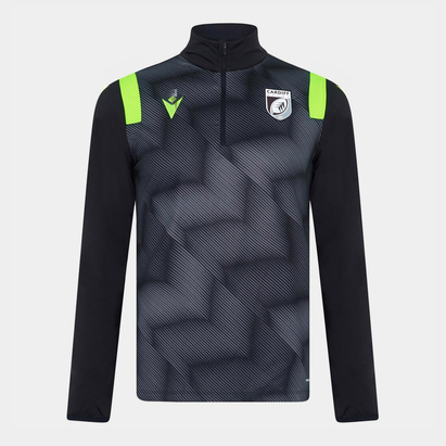 Macron Cardiff Quarter Zip Jacket Mens