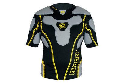 Optimum Velocity Top Body Armour Black/Yellow