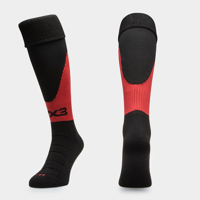 VX3 Dragons 2018/19 Players Home Kids Rugby Socks
