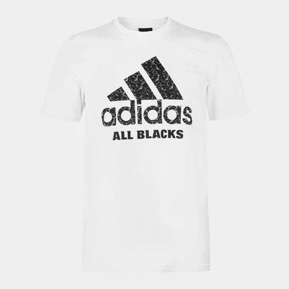 adidas All Blacks Logo T-Shirt Mens