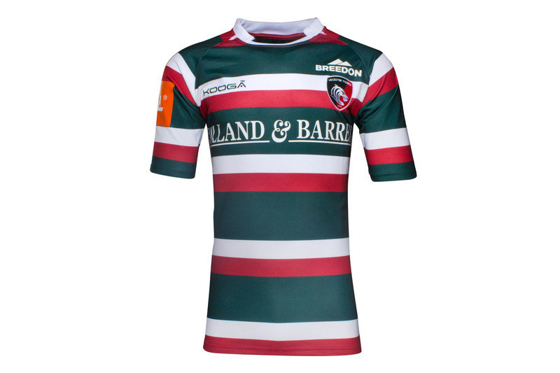 Kooga leicester tigers home s replica rugby ebay