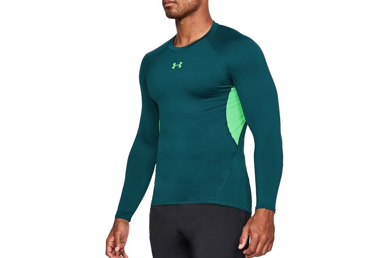 Men's Clothing Under Armour Mens 2018 Heatgear Training Short Sleeve Compression Top Green