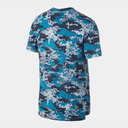 Breathe 365 Graphic Pattern Tee Mens