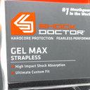 Shock Doctor Gel Max Rugby Mouth Guard Orange/Black