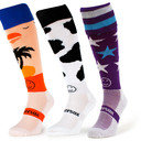 Wackysox 3 pack Supersaver One Slate Short Rugby Socks