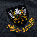 Northampton Saints 2013/14 Players Media Rugby Polo Shirt