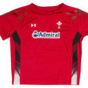 Wales 2013/15 Home Infant S/S Rugby Shirt