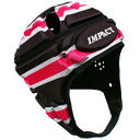 V2 Premium Vented Tri Stripe Rugby Head Guard