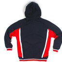ISC Hooded Rugby Sweat Navy/White