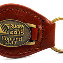 Rugby World Cup 2015 Leather Keyring