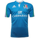 Italy 2014/15 Home S/S Replica Rugby Shirt