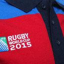 RWC 2015 England Hooped Polo Shirt