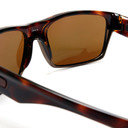 Oakley Two Face 9189 17 Polished Brown Tungsten Iridium Polarized Sunglasses