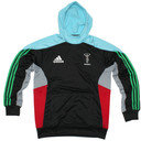 Harlequins 2014/15 Players Hooded Rugby Sweat