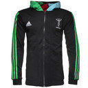 Harlequins 2014/15 Full Zip Rugby Training Hooded Sweat