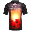 Army Rugby Union Evermore Poppy Remembrance Day Rugby Shirt
