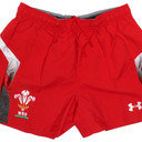 Wales 2014/15 Home Players Authentic Rugby Shorts