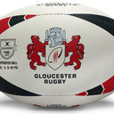 Gloucester Supporters Rugby Ball