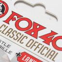 Fox 40 Official Refs Whistle With Black Lanyard