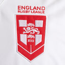 England Rugby League 2018/19 S/S Replica Rugby Shirt