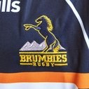 Brumbies 2019 Home Kids Super Rugby S/S Rugby Shirt