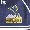Brumbies 2019 Alternate Super Rugby Kids S/S Rugby Shir9