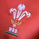 Wales WRU 2016/17 Home Kids S/S Rugby Shirt