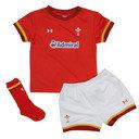 Wales WRU 2016/17 Home Kids S/S Rugby Kit