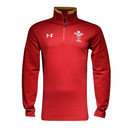 Wales WRU 2016/17 Players 1/4 Zip Rugby Travel Jacket