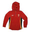 Wales WRU 2016/17 Kids Supporters 1/4 Zip Rugby Jacket