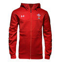 Wales WRU 2016/17 ColdGear Infrared Hooded Rugby Jacket