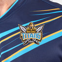 Gold Coast Titans 2019 NRL Home S/S Rugby Shirt