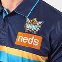 Gold Coast Titans 2019 NRL Players Media Rugby Polo Shirt