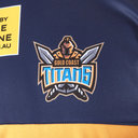 Gold Coast Titans 2019 NRL Players Rugby Training T-Shirt