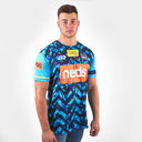 Gold Coast Titans 2019 NRL Players Warm Up Rugby T-Shirt