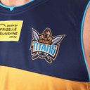 Gold Coast Titans 2019 NRL Players Rugby Training Singlet