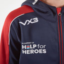 Help for Heroes England 2019/20 Kids FZ Hooded Rugby Sweat
