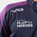 Help for Heroes Scotland 2019/20 Half Zip Rugby Sweat