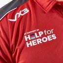 Help for Heroes Wales 2019/20 Rugby Polo Shirt