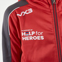 Help for Heroes Wales 2019/20 Kids FZ Hooded Rugby Sweat