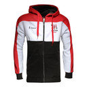 Ulster 2015/16 Players Full Zip Cotton Hooded Sweat