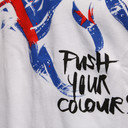 Push New Zealand All Blacks Kids Logo Rugby T-Shirt